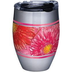Tervis 12 oz. Stainless Steel Colossal Daisy Wine Tumbler