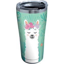 Tervis 20 oz. Stainless Steel Llama Flora Tumbler With Lid