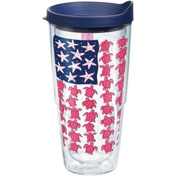 Tervis 24 oz. Simply Southern Turtle Flag Tumbler With Lid