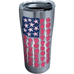 Tervis 20 oz. Stainless Steel Turtle Flag Tumbler With Lid
