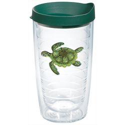Tervis 16 oz. Green Turtle Travel Tumbler