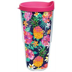Tervis 24 oz. Bright Tropicals Travel Tumbler