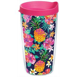 Tervis 16 oz. Bright Tropicals Travel Tumbler