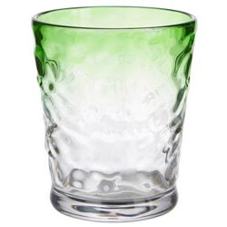 Tropix 14 oz. Lime Ombre Double Old Fashioned Glass