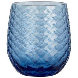 Coastal Home 14 oz. Hammered Texture Stemless Wine Glass
