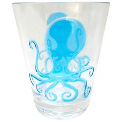 Tropix Octopus Double Old Fashioned Glass