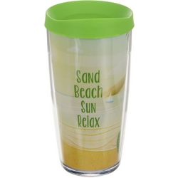 COVO 16 oz. Sand Beach Sun Relax Travel