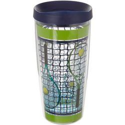 COVO 16 oz. Tennis Raquets Travel Tumbler