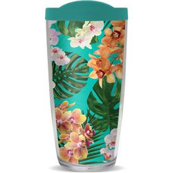 COVO 16 oz. Orchid Teal Travel Tumbler