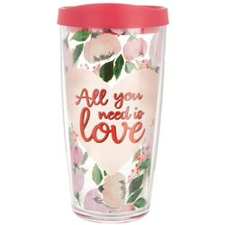 COVO 16 oz. All You Need Is Love Travel Tumbler