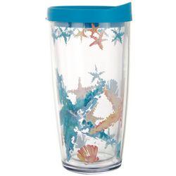 Tropix 16 oz. Starfish Travel Tumbler