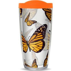 COVO 16 oz. Monarch Butterfly Travel Tumbler