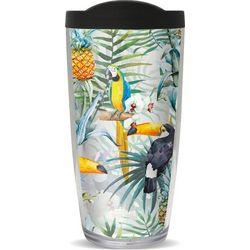 COVO 16 oz. Paradise Parrots Travel Tumbler