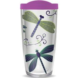 COVO 16 oz. Dragonflies Travel Tumbler
