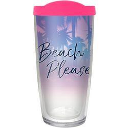 COVO 16 oz. Beach Please Travel Tumbler