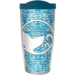 COVO 16 oz. Scattered Scales Travel Tumbler