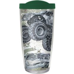 COVO 16 oz. Chomp Monster Truck Travel Tumbler