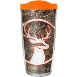 COVO 16 oz. Hickory Deer Travel Tumbler