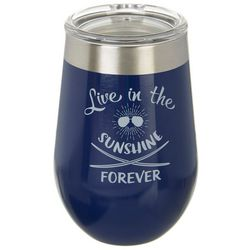 Reduce 12 oz. Live In The Sunshine Wine Tumbler