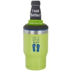 Reduce 14 oz. Life Is Better In Flip Flops Drink Cooler