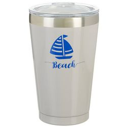Reduce 16 oz. Beach Sailboat Travel Tumbler