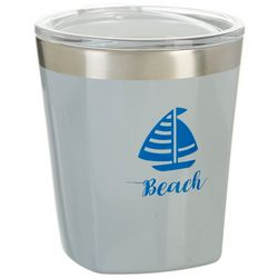 Reduce 10 oz. Beach Sailboat Travel Tumbler