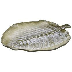 Certified International Palm Leaf Platter