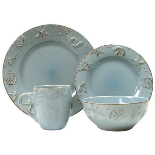 Thomson Pottery 16-pc  Cape Cod Dinnerware Set