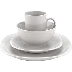 Thomson Pottery 16-pc. White Quadro Set