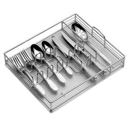 Pfaltzgraff 45-pc. Mirage Flatware Set with Caddy