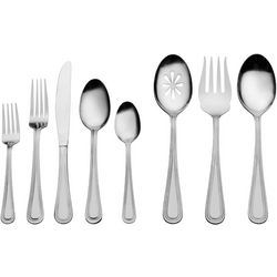 International Style 87-pc. Pearl Flatware Set