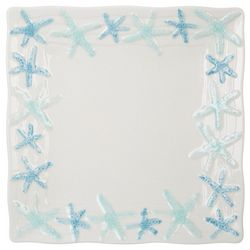Gibson Cape Coral Starfish Salad Plate
