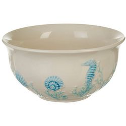 Coastal Home Blue Coral Cereal Bowl
