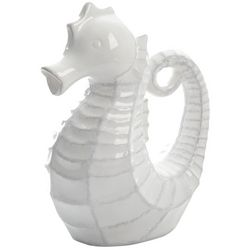 Coastal Home Seahorse Decorative Pitcher