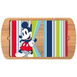 Toscana Mickey Mouse Billboard Glass Top Serving Tray