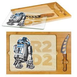 Star Wars R2-D2 Icon Cutting Board & Knife Set