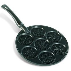 Falling Snowflakes Pancake Pan