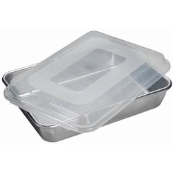Nordic Ware Rectangular Cake Pan with Lid