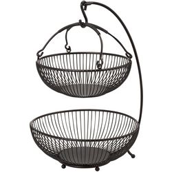 Gourmet Basics by Mikasa Spindle 2 Tier Basket