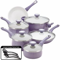 Farberware Speckled Lavender 14-pc. Cookware Set
