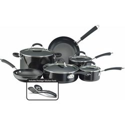 Farberware Millennium 12-pc. Black Cookware Set