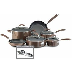 Farberware Millennium 12-pc. Bronze Cookware Set