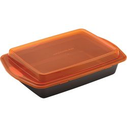 Rachael Ray 9'' x 13'' Covered Cake Pan
