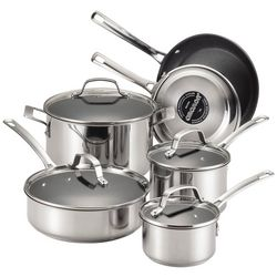 Circulon 10-pc. Stainless Steel Cookware Set