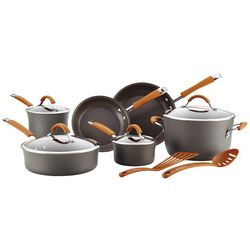 Rachael Ray 12-pc. Gray Hard Anodized Cookware Set