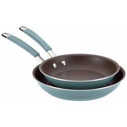 Rachael Ray 2-pk. Agave Blue Nonstick Skillet Set