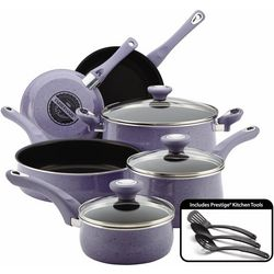Fareberware 12-pc. Speckled Lavender Cookware Set