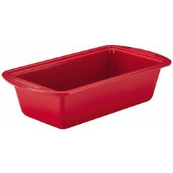 SilverStone Hybrid Ceramic Red 9'' x 5'' Loaf Pan