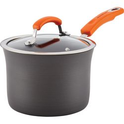 Rachael Ray 3 qt. Nonstick Covered Saucepan