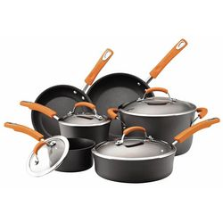 10-pc. Hard Anodized Cookware Set